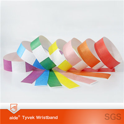 Tyvek Wristbands Plain Color