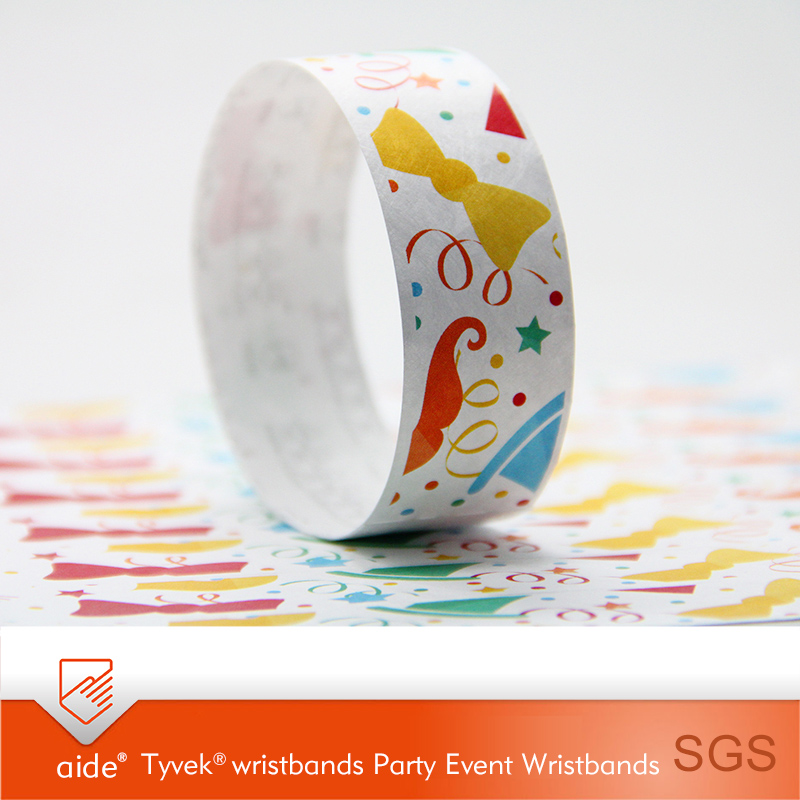 Tyvek Wristbands Party Celebration