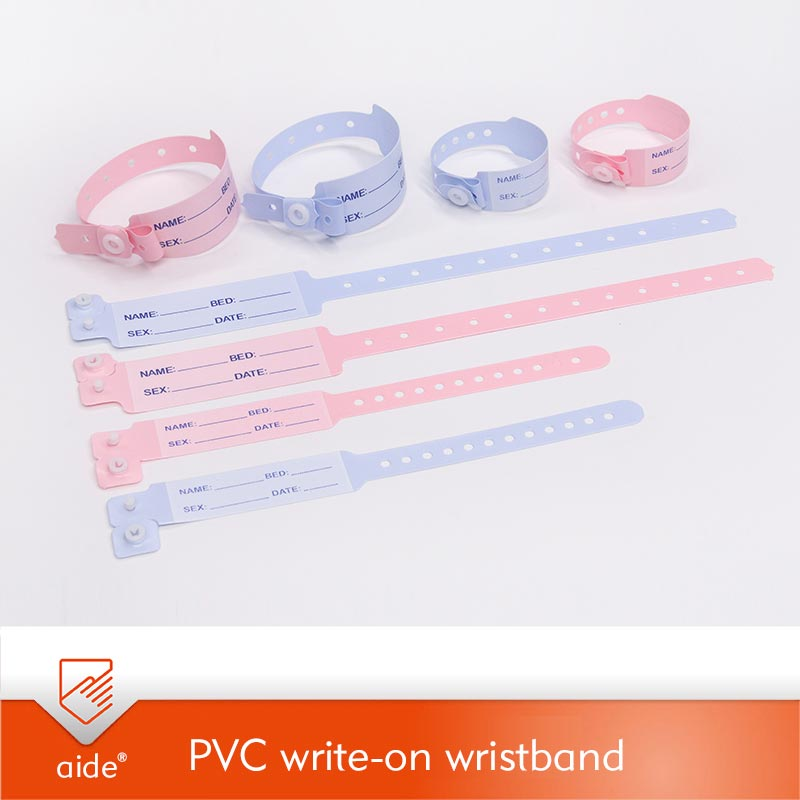 Writen PVC Wristbands