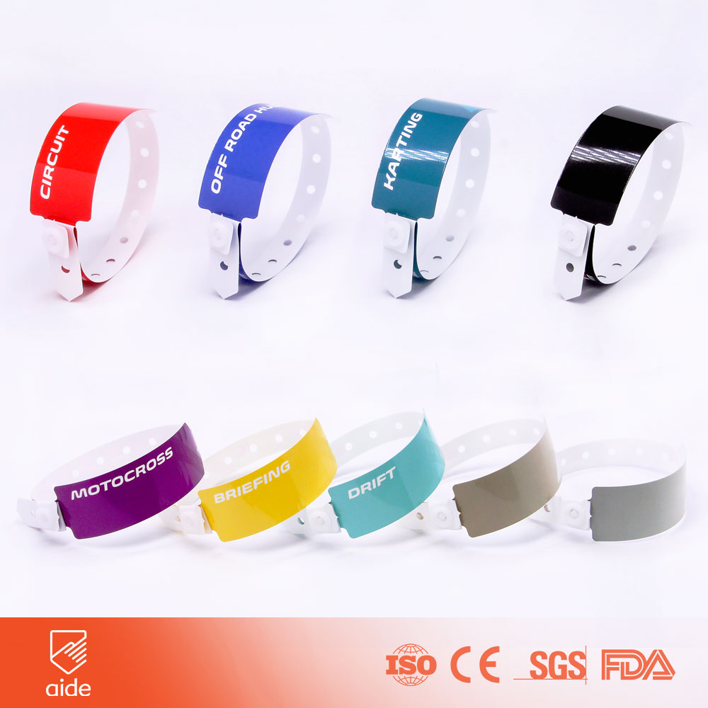 Custom Disposable T-shaped Wristbands