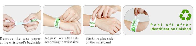 Tyvek,Wristbands,Armbands,Bracelets,Halloween