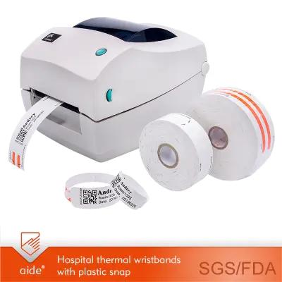 Thermal Printable Patient ID Wristbands-AD10
