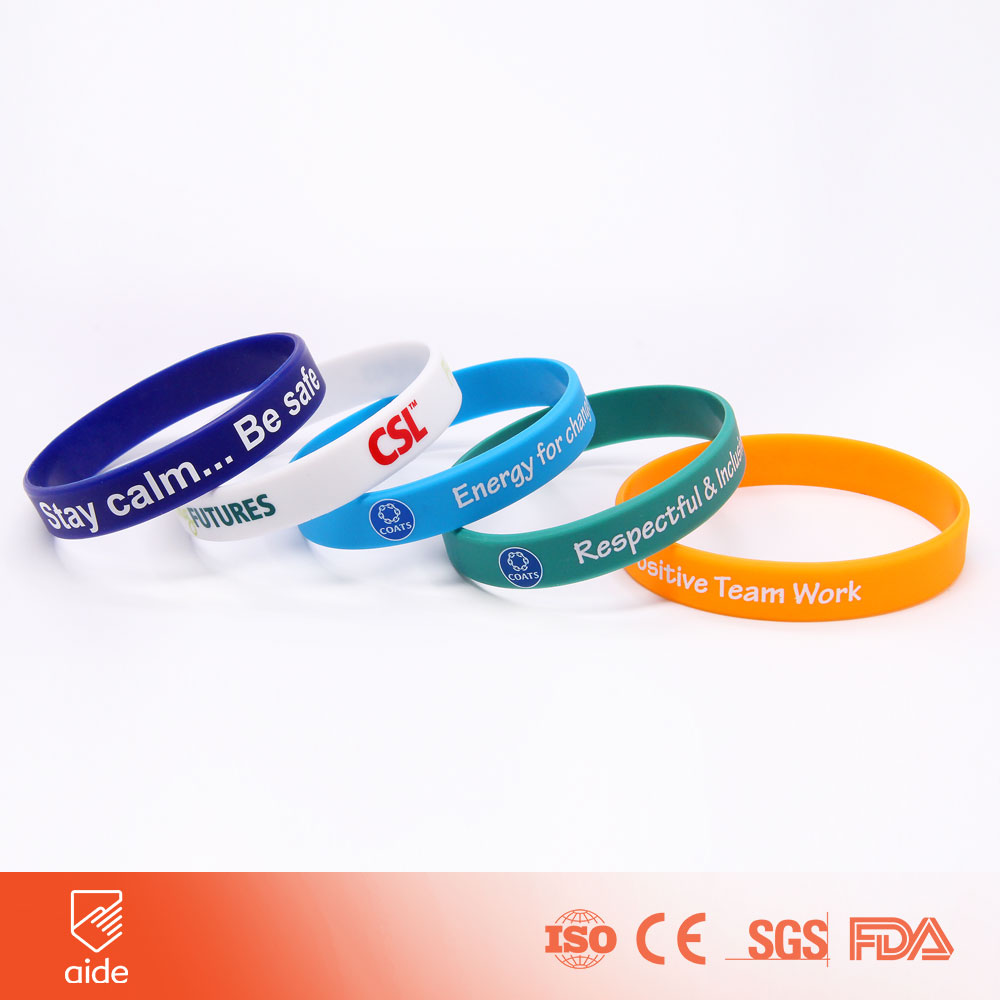 Custom Silicone Rubber Wristband