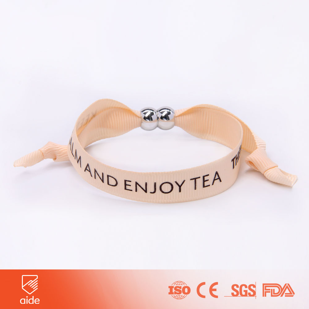 High Quality Fabric Slap Bracelet