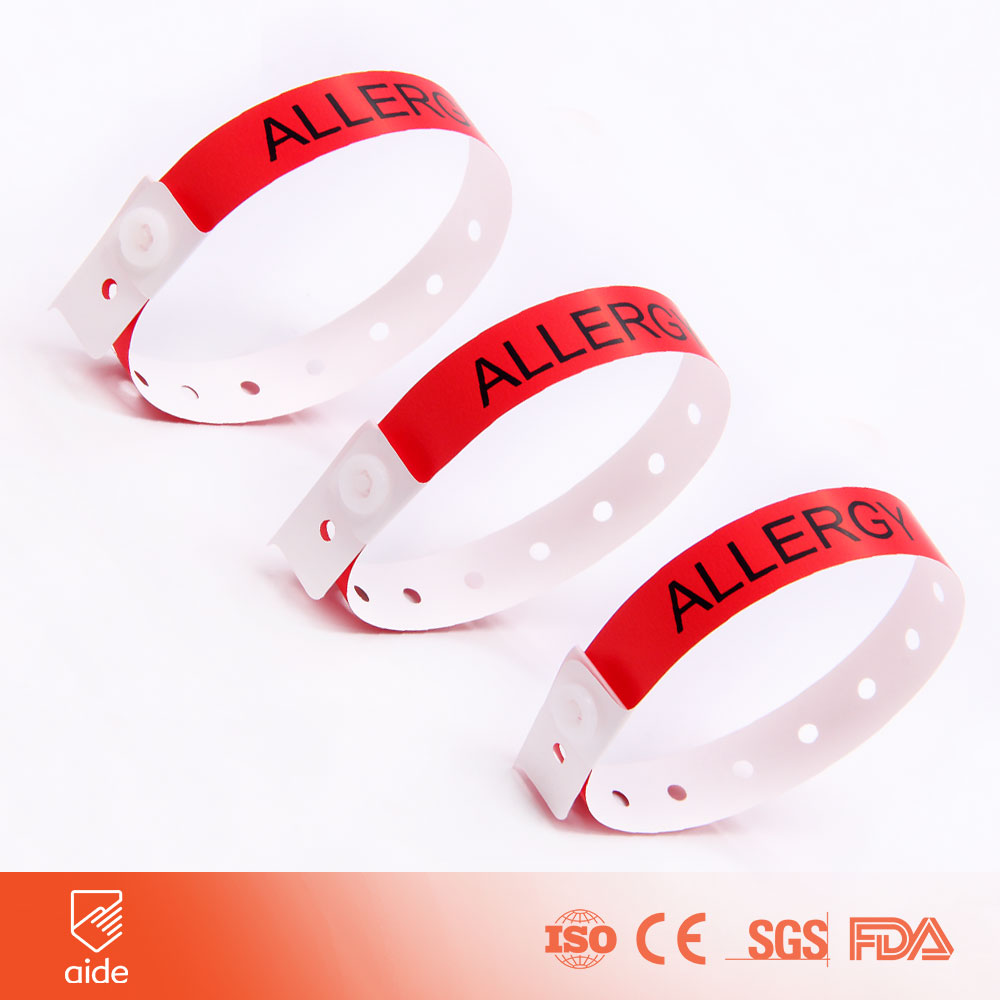 Medical Color Code Wristband