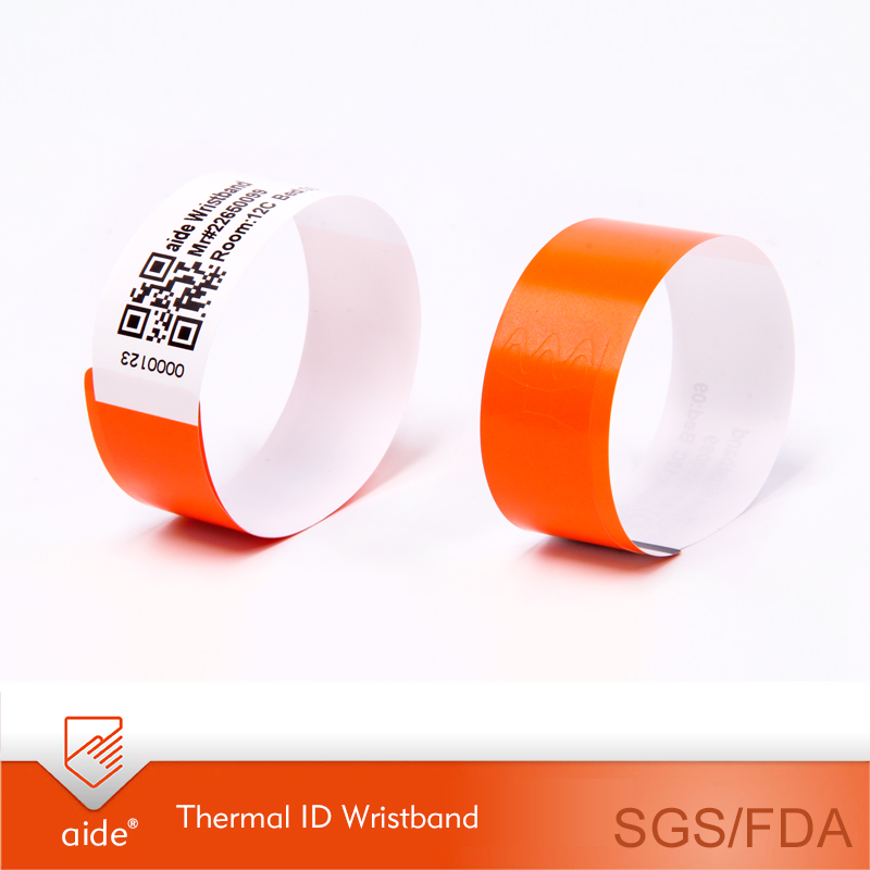 Patient thermal wristband