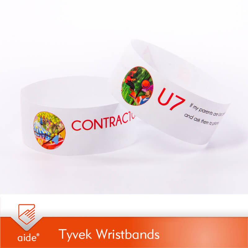Printed Event & Security Wristbands